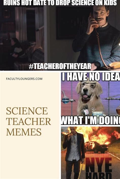 science teacher memes faculty loungers gifts