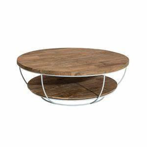 Table Basse 100x100 : table basse coque blanche double plateau 100x100 cm appoline teck fonc pas cher achat ~ Teatrodelosmanantiales.com Idées de Décoration