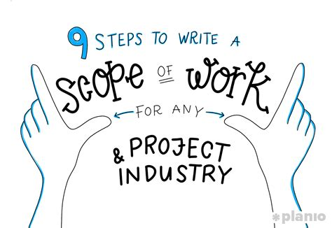 steps  write  scope  work sow   project