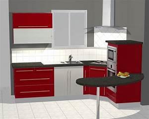 Plan De Cuisine 3d : conception 3d cuisine luc rautureau ~ Nature-et-papiers.com Idées de Décoration