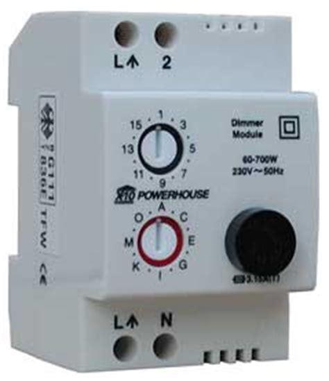 x10 l module led lights x10 din rail l module ld10 review automated home