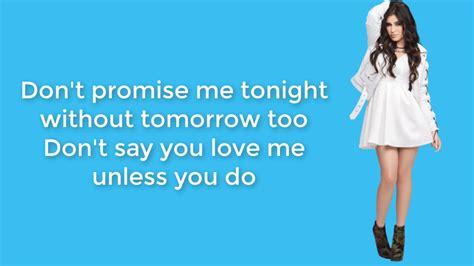 Don't Say You Love Me (lyrics)