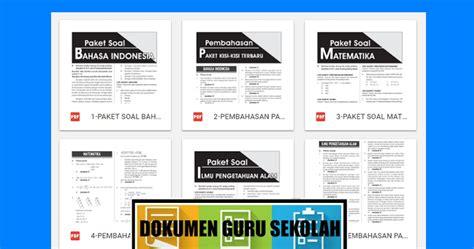 soal latihan usbn sd bahasa indonesia matematika ipa