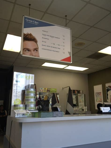 great clips hair salons  ralston ave belmont ca reviews  menu yelp