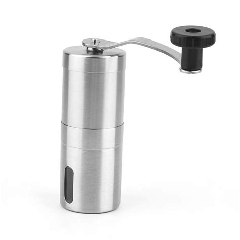 This is because a certain type of coffee requires different. Practical Coffee Bean Grinder Stainless Steel Hand Manual Handmade Grinder | Manual coffee ...