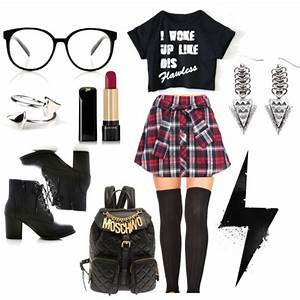 """School Girl Rebel"" by pinkiceofficial on Polyvore ..."