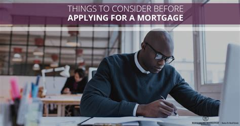 Things To Consider Before Applying