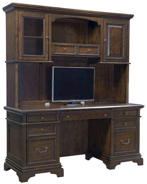 Aspen Home Desk And Hutch by Aspenhome Credenza Desk And Hutch Essex Asi24 316 319