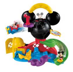 amazon com disney mickey mouse fly n slide clubhouse