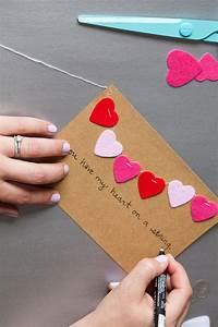 DIY // Valentine's Day Cards - The Effortless Chic  Valentines
