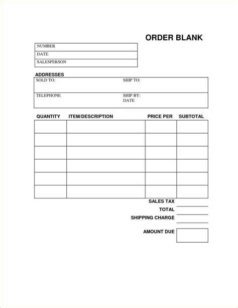 requirements  business  telephone templates  order
