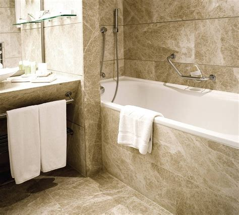 Natural Stone Tile Bathroom  Tile  Other Metro By