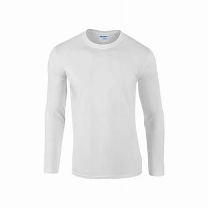 Shirts Sleeve Shirt Cotton Plain Heren Gildan