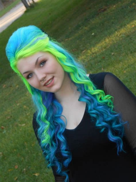 580 Best Images About Colorful Hair On Pinterest Green