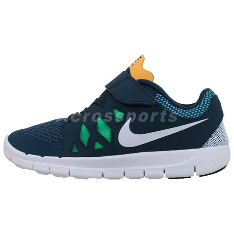 nike free 5 psv green white 2014 new preschool velcro 260 | 644430300 1