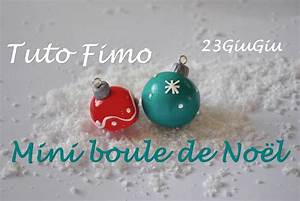 Mini Boule De Noel : tuto fimo no l mini boule de no l youtube ~ Dallasstarsshop.com Idées de Décoration