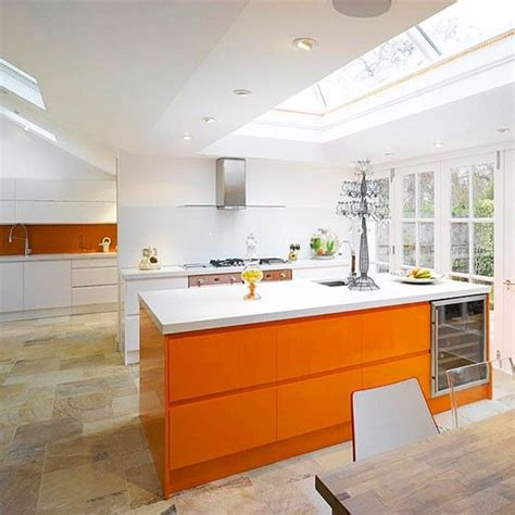 kitchen design orange 27 cheerful orange kitchen decor ideas digsdigs 1294