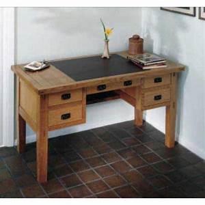 Stickley Leather-top Desk Downloadable Plan Desks