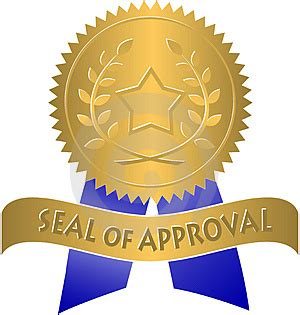 Seal Of Approval Template Loading