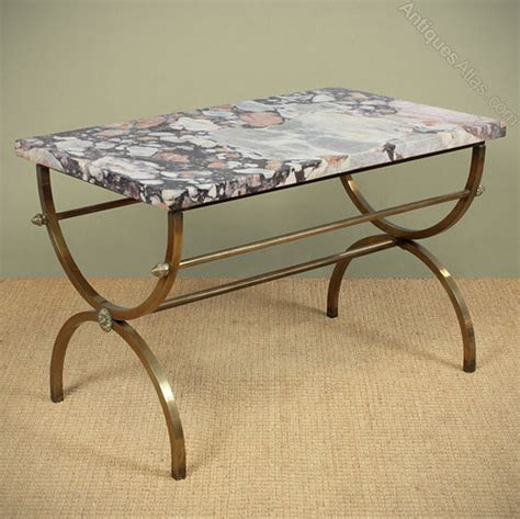 antique marble top coffee table antiques atlas mid century marble top coffee table