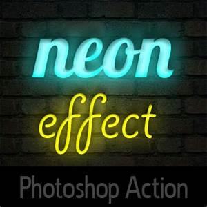 Neon shop Action 3D Effects