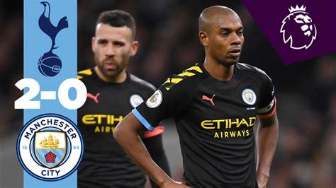 Spurs 2-0 City: Full match replay
