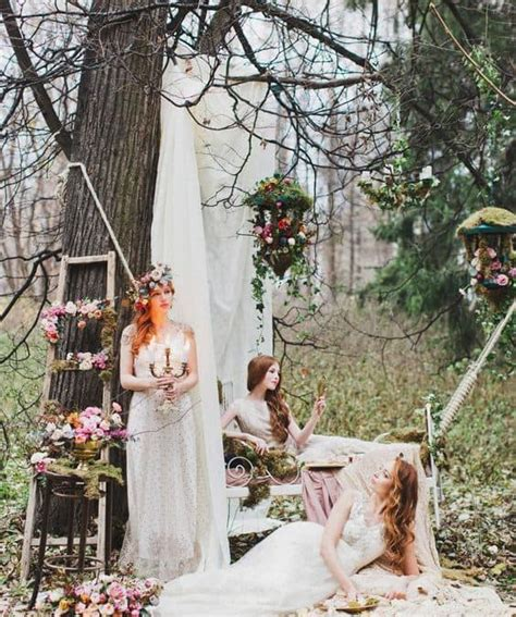 Enchanted Forest Wedding Blooms By The Box
