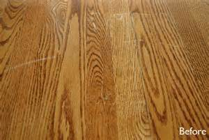fix for scratched hardwood floors