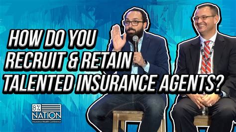 Insurance brokers work with their clients to understand their risks, and to discuss how to use insurance to protect their assets and businesses. How Do You Recruit & Retain Talented Insurance Agents? - YouTube