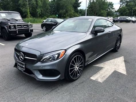 Proudly serving fort mitchell, ky. 2017 Mercedes-Benz C 300 4MATIC Coupe | Selenite Gray Metallic OCU360