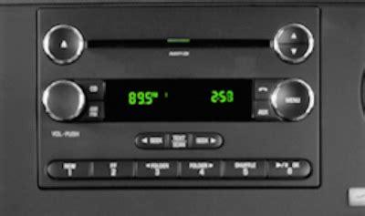 ford factory navigation stereo cd changer radio repair