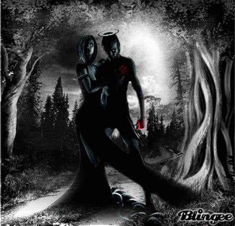 anime couple dark couple dark picture 119101458 blingee com