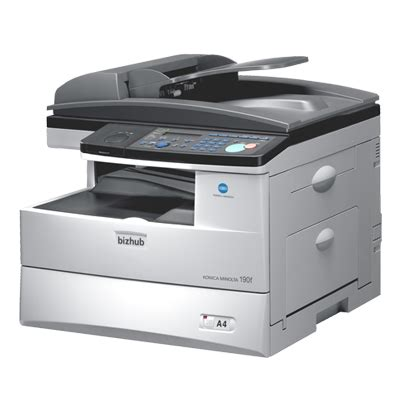 As of september 30, 2017, we discontinued dealing with copy protection utility on our new products. Konica Minolta bizhub 190f - Service (190F_Parts)