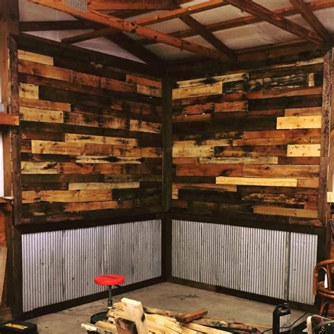 cheap garage wall covering pallet wood wall covering kentucky