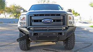 2011 - 2016 Ford F-250  F-350 Honeybadger Front Bumper W   Storage Box  Add Offroad
