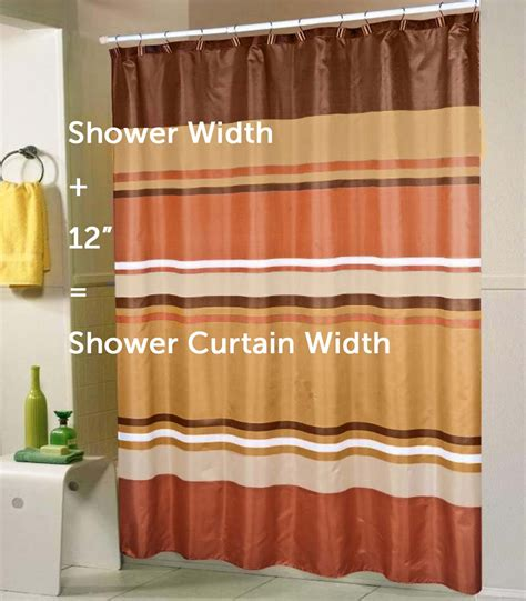 a standard shower curtain size guide quasarshopping