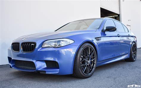 Bmw M5 Blue by Monte Carlo Blue Bmw F10 M5 Vorsteiner V Ff 107 Wheels