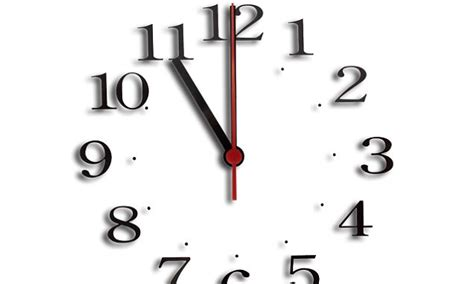 Arrive On Time Clock Punctual Schedule 3 D Animation