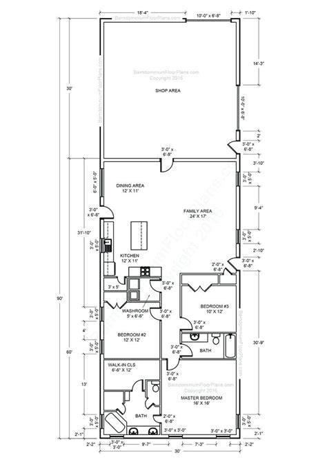 oconnorhomesinccom  choice  pole barns floor plans metal building  living quarters