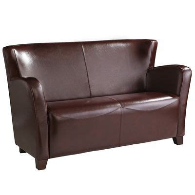 Ansel Loveseat by Pier 1 Ansel Loveseat Cordovan 600 But Extremely