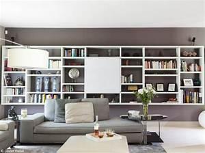 Bibliothèque Murale Design : biblioth ques design nos 11 solutions pr f r es design biblioth ques et tvs ~ Teatrodelosmanantiales.com Idées de Décoration