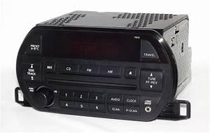 Nissan Altima 2002 2003 Am Fm Cd W Aux Input Radio Py010