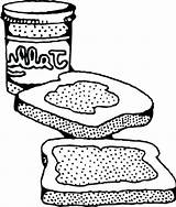 Peanut Sandwich Butter Coloring Pages Drawing Getdrawings Colouring Printable Halloween Getcolorings Popular sketch template