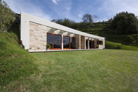 House Built by House Built Into A Hill