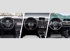 VW Tiguan vs Audi Q3 vs BMW X1 comparison carwow