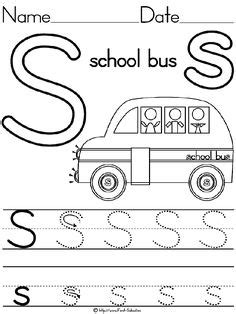 tracing letter templates images preschool