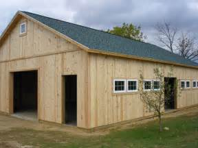 Pole Barn Builders Michigan