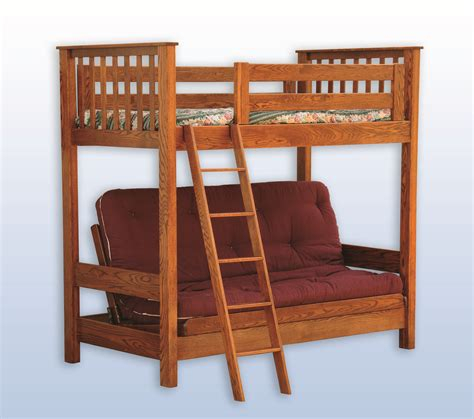 futon bunk futon bunk bed hardwood creations
