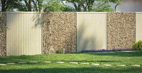 sichtschutzzaun aus kunststoff zaun sichtschutz selber bauen obi gartenplaner