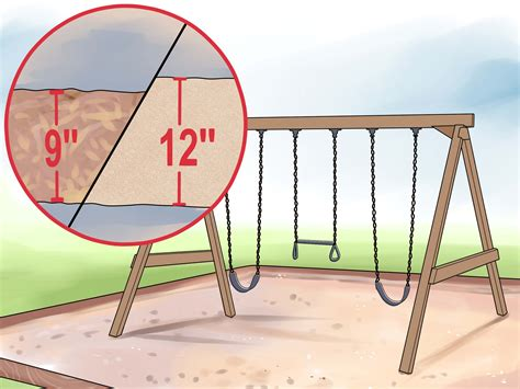 swing como 3 ways to anchor a swing set wikihow